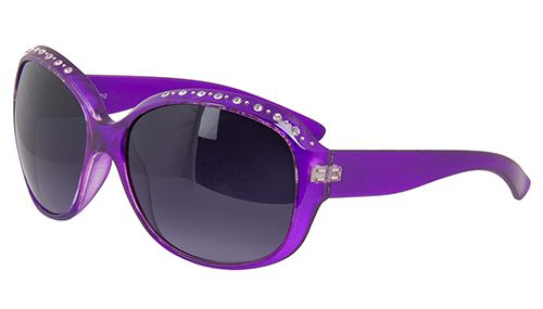 6e0d51384e6 Light Purple Sunglasses with Rhinestones at The Purple Store