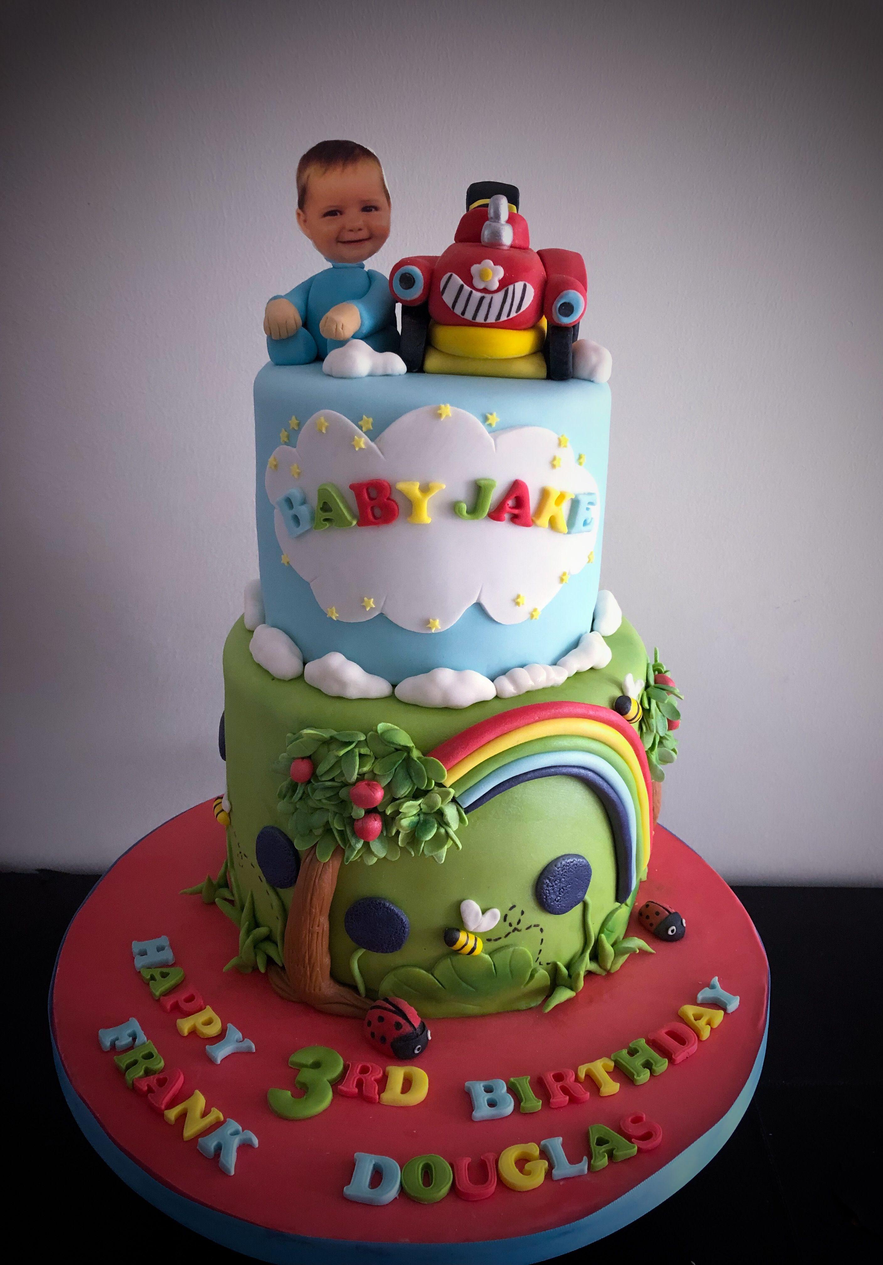 Baby Jake cakes | Jake cake, Cake, Cake designs