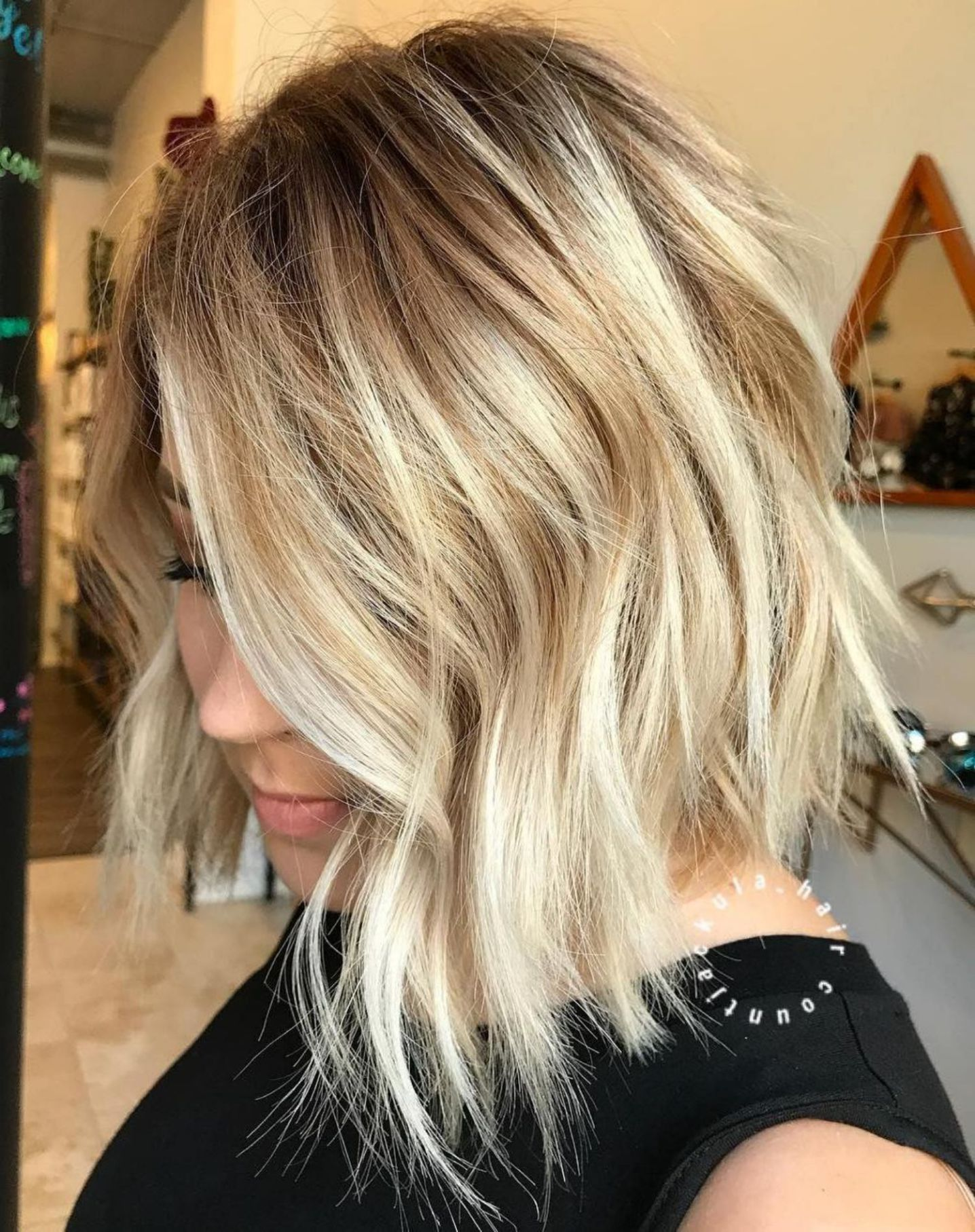 Inspiring Long Bob Hairstyles and Haircuts in Hair dous