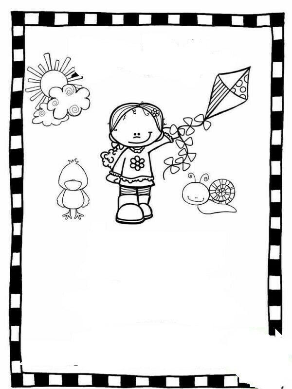 Pin de Haylin López en dibujos para colorear | Coloring pages, Clip ...