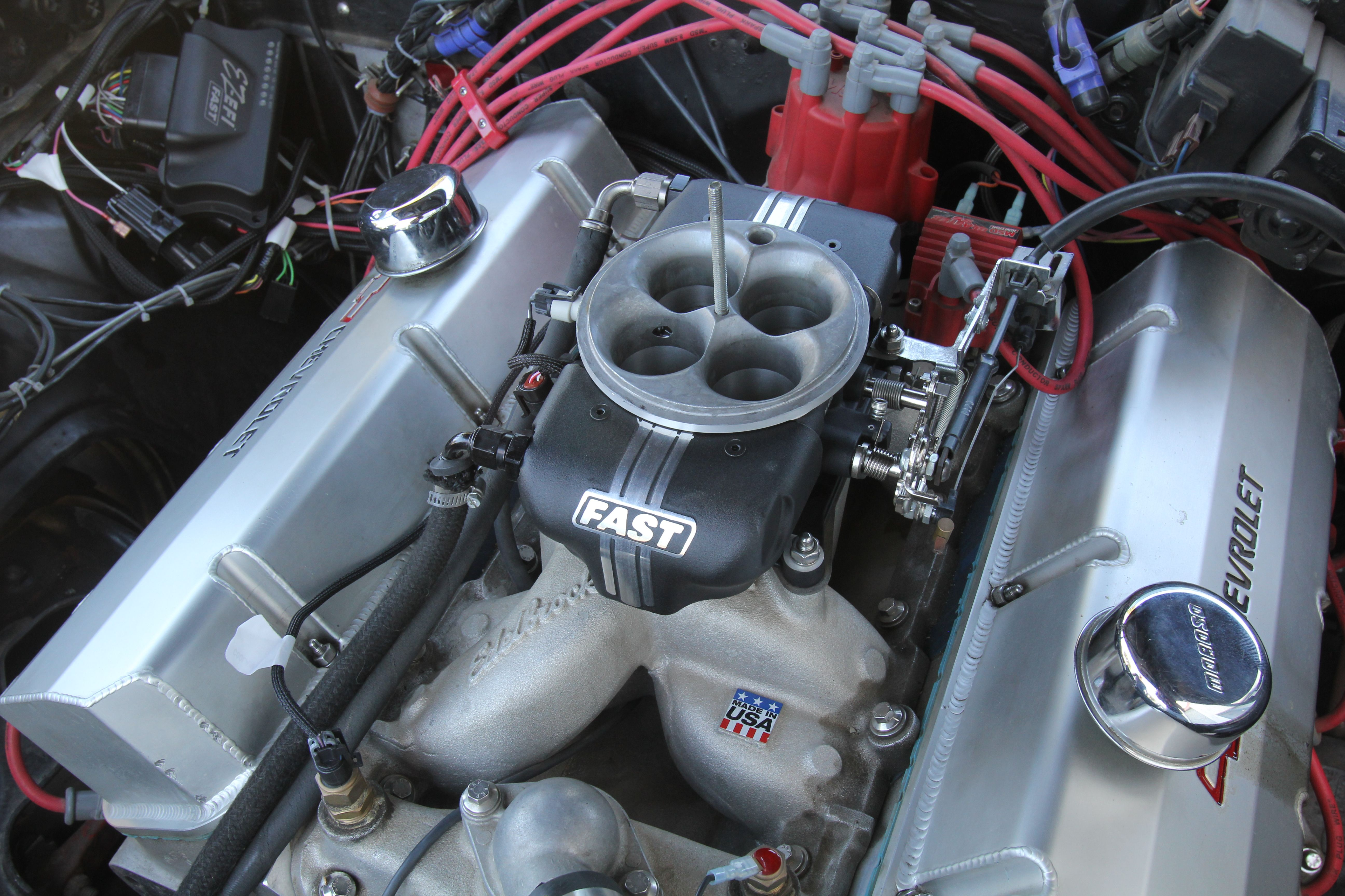 I recently bought an EZ-EFI throttle body fuel injection