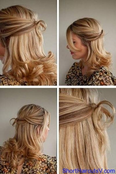 Pin By Tracy Murphy On Hair Tricks Hair Styles Hair Romance Formal Hairstyles For Short Hair