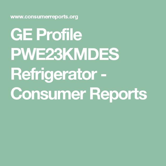 GE Profile PWE23KMDES Refrigerator
