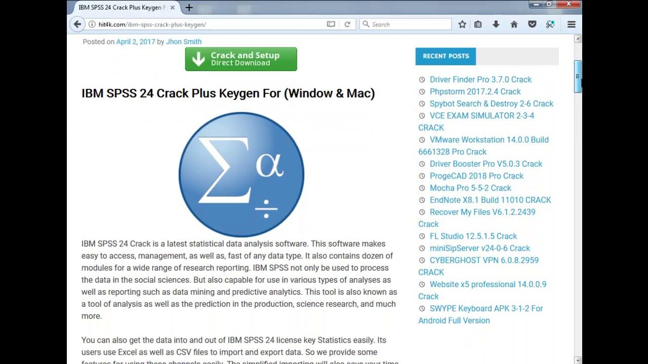 spss 20 free download for windows 7 full version with crack