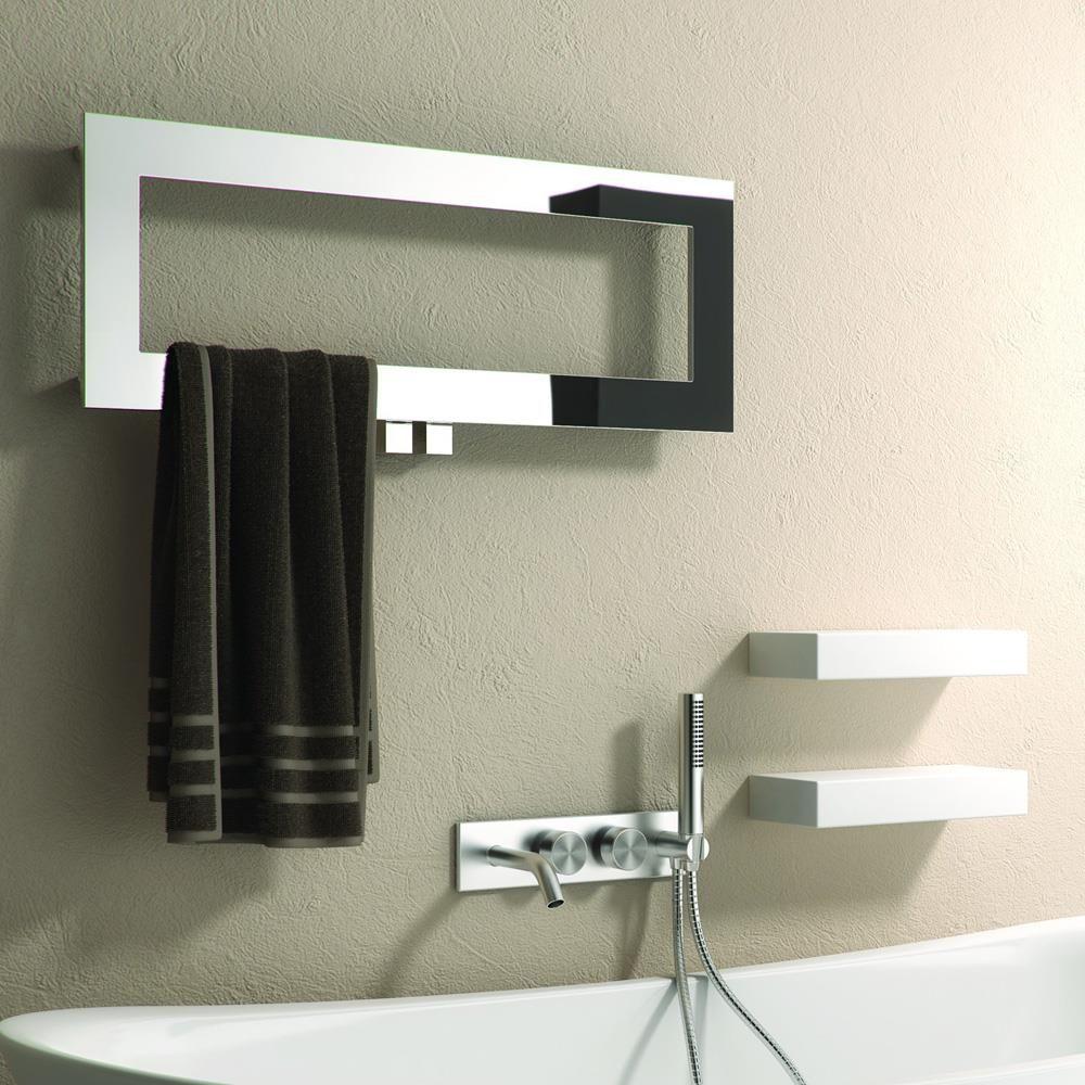 Grzejnik łazienkowy Dekoracyjny Bivano 800300mm Stal