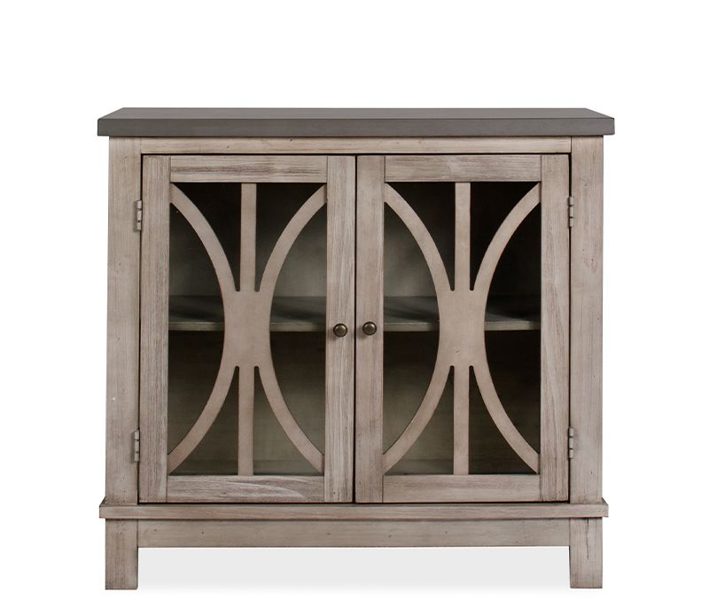 mila accent cabinet - constructed of poplar solids and asian
