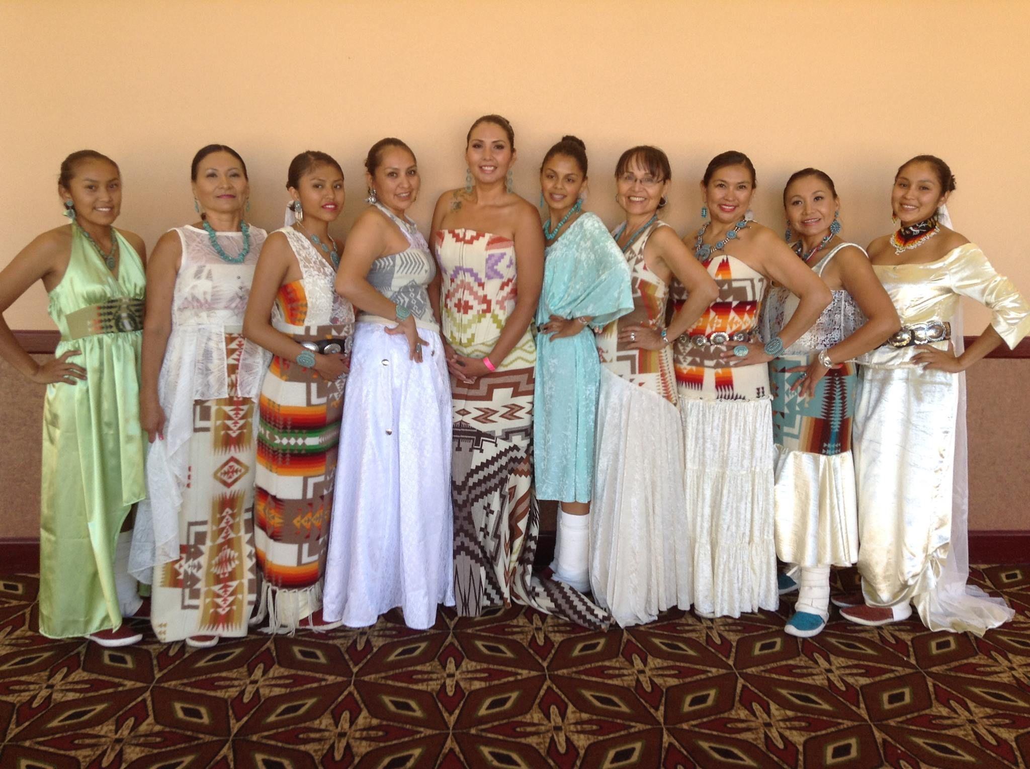 Native american wedding dress  st Annual Bridal Expo at Hon Dah Apache Casino Fashion Show