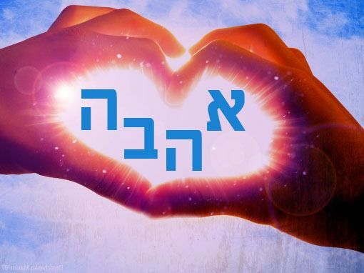 From United With Hebrew: The HEBREW word for
