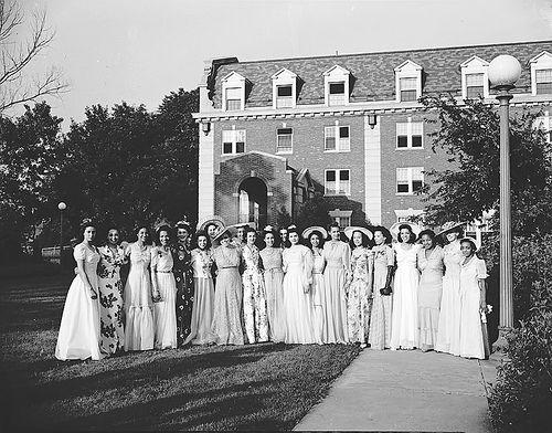 Howard University Garden Party - circa early 1930s