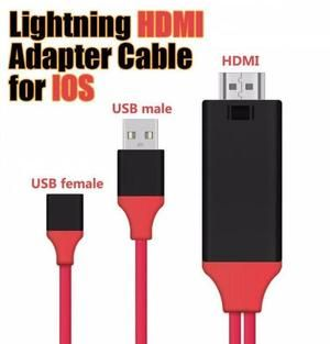 Iphone Screen To Tv Cable Hdmi Cables Tvs Usb