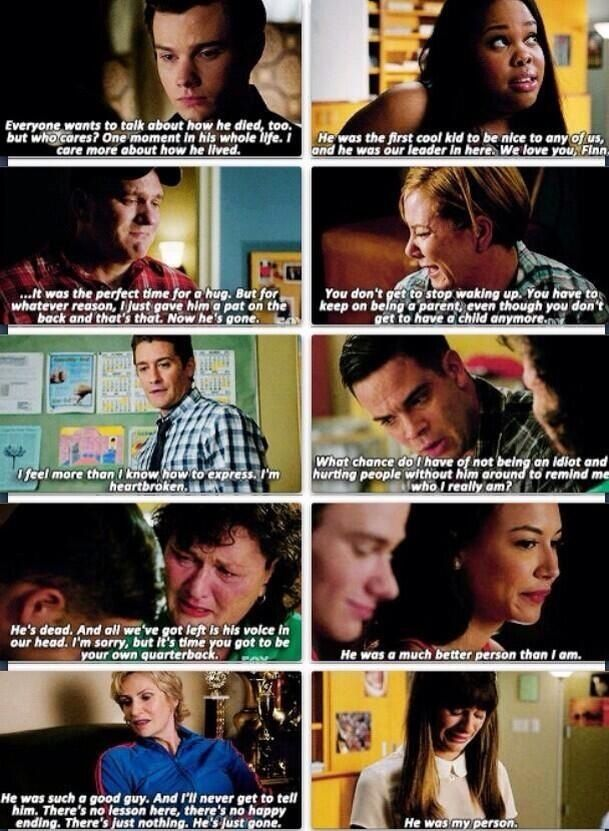 "Glee ""The Quarterback"""