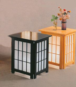 beautiful shoji end table For the Home Decor Pinterest Lights