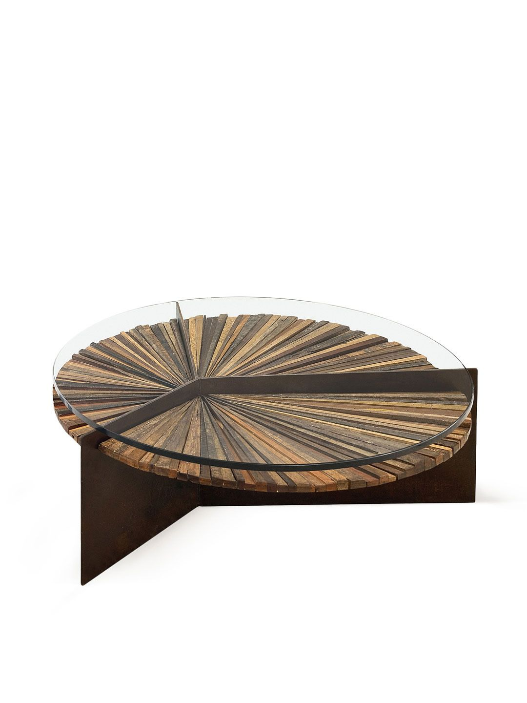 Made to resemble the shape of a mandala this magical table is