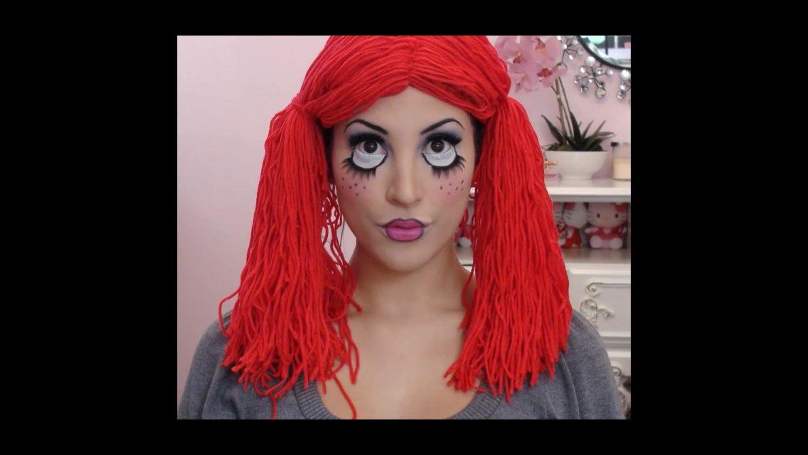 cheap super easy rag doll makeup tutorial you com with rag doll makeup