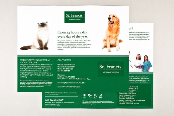 How to create a professional brochure plus 40 superb templates - pamphlet sample