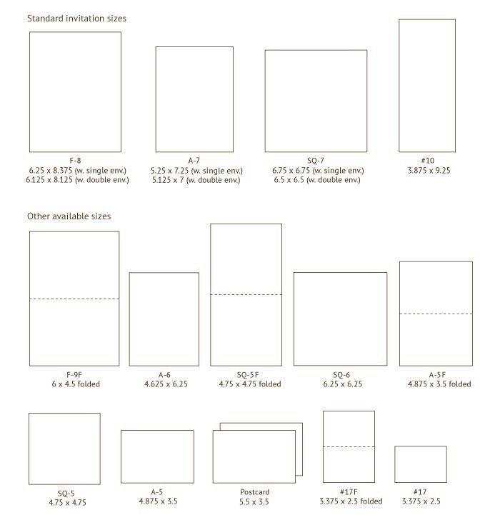 Wedding Invitation Envelope Sizes: CRAFT-CARDS : BOXES : ENVELOPES