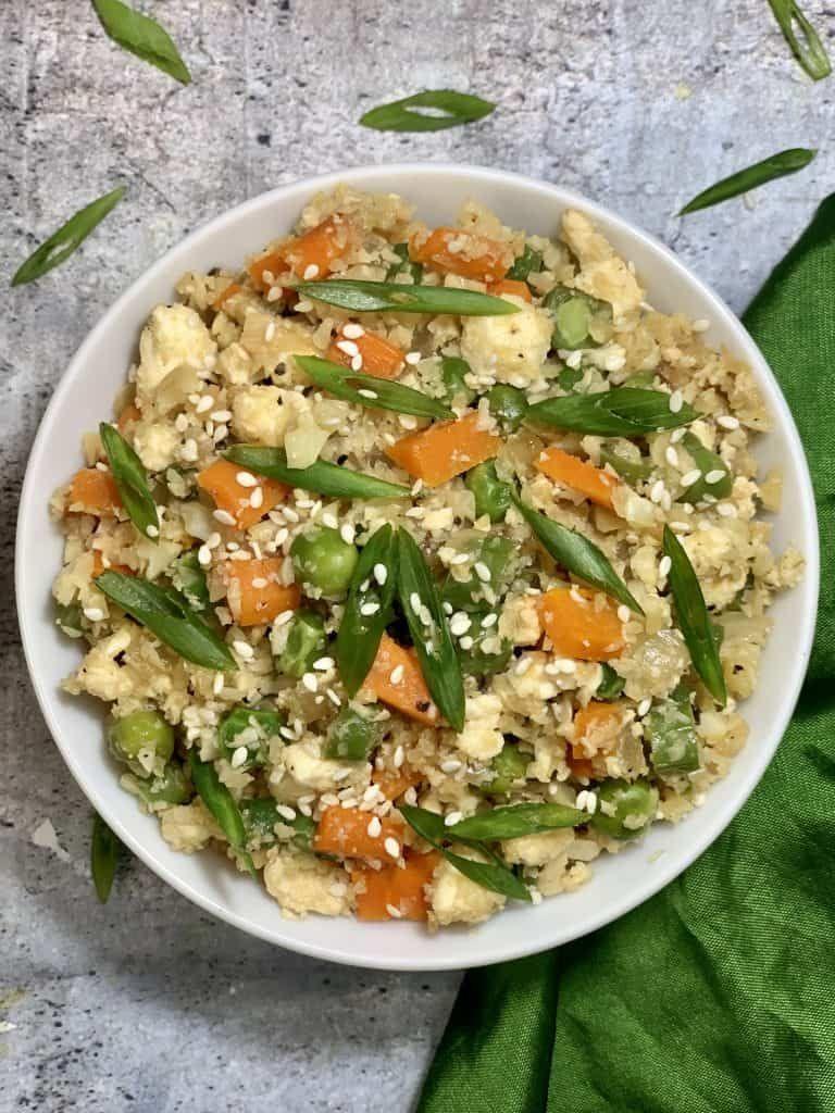 Cauliflower fried rice recipe in 2020 keto indian food