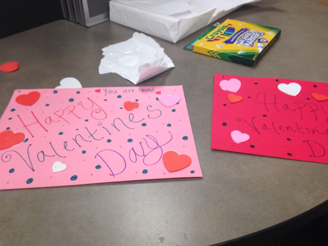 Cards For Nursing Home Residents Valentines Cards Valentine Fun Cards