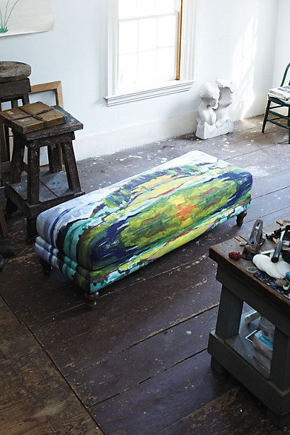 Fine Cotswold Bench Ottoman Landscape Gypsy Farmhouse Alphanode Cool Chair Designs And Ideas Alphanodeonline