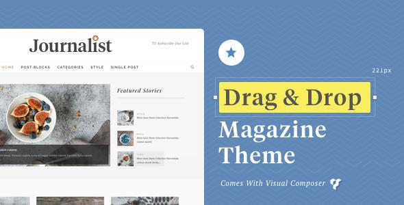 Journalist - WordPress Blog & Magazine Theme • Download theme ➝ https://themeforest.net/item/journalist-wordpress-blog-magazine-theme/17539768?ref=pxcr