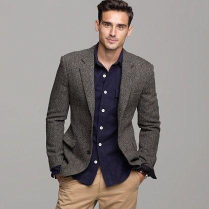 Tweed Sport Coat Men