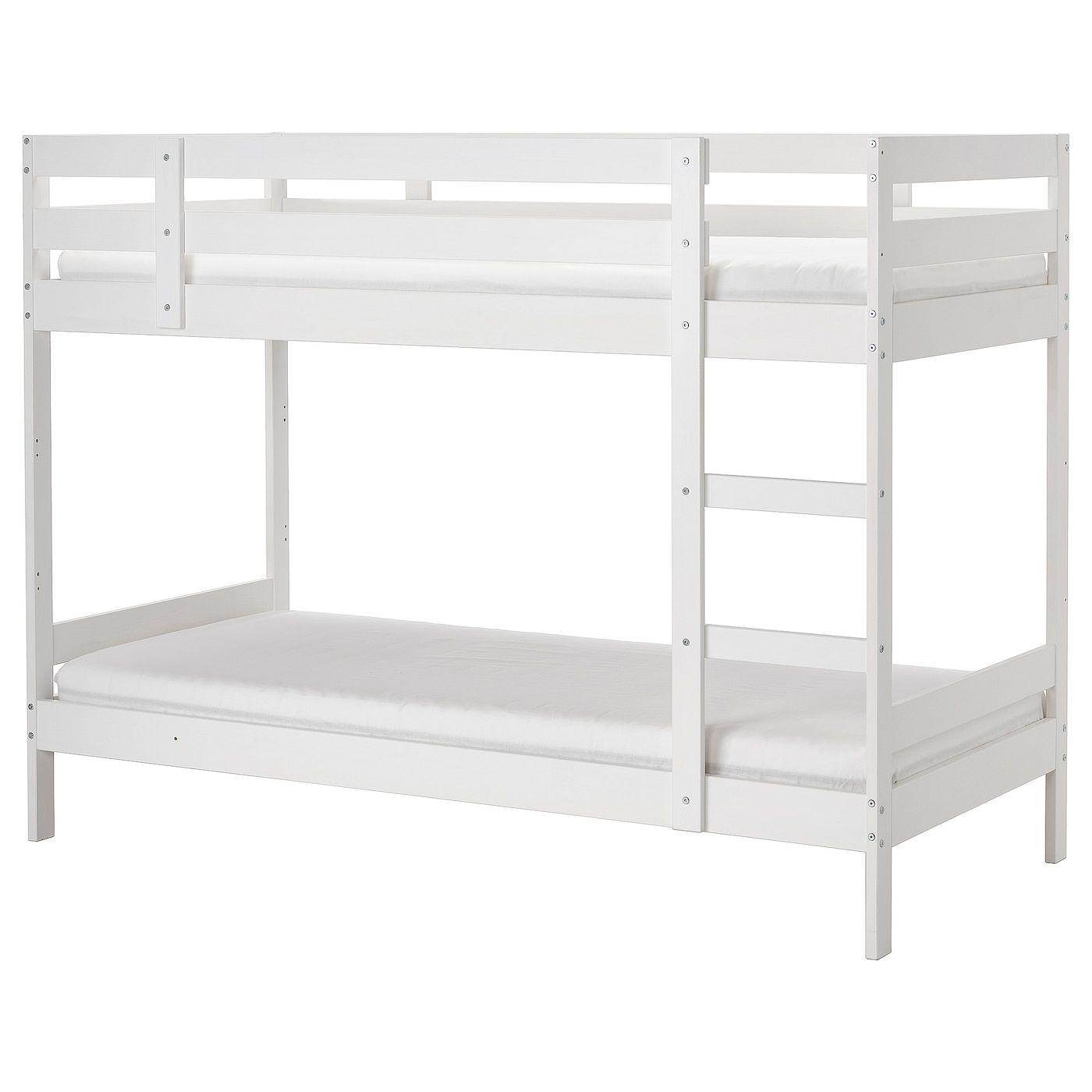 Https Www Ikea Com No No P Mydal Koyeseng Hvit 20467629 Ikea Loft Bed Frame White Bunk Beds Bunk Beds