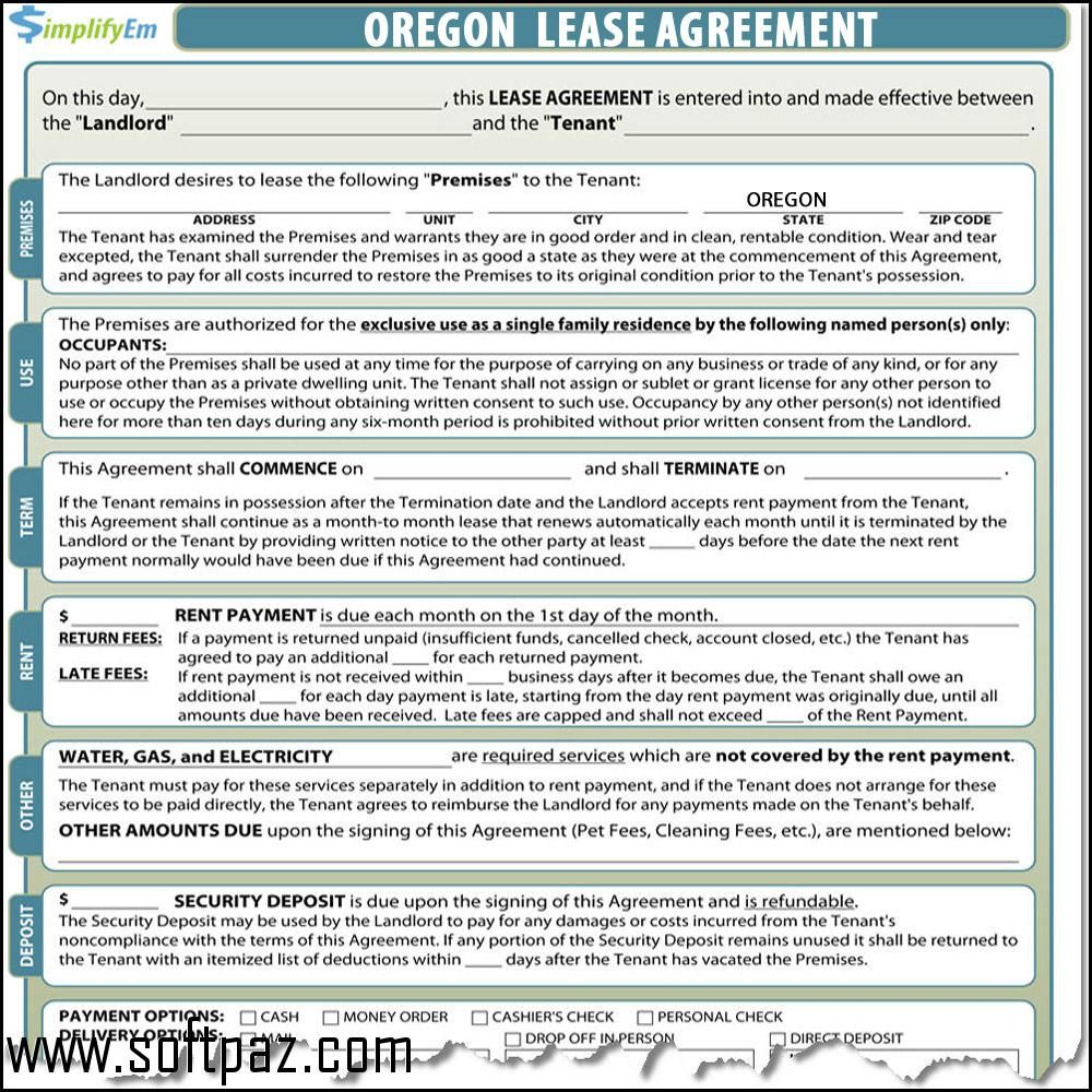 Getting Oregon Lease Contract Setup Was Never This Easy Download