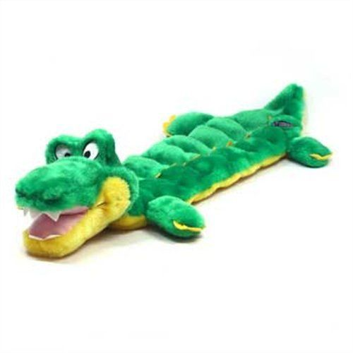 Kyjen Pp02233 Squeaker Mat Gator 16 Squeaker Plush Squeak Toy Dog