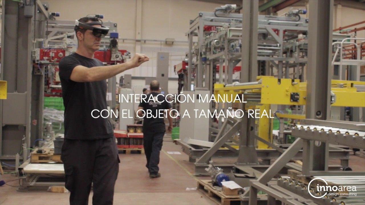 Aplicación de Realidad Aumentada para la industria que