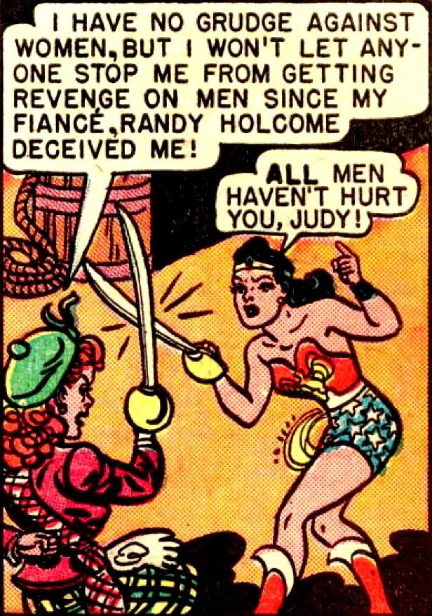 All Men Haven T Hurt You Judy Wonder Woman Comic Vintage Comics Comics