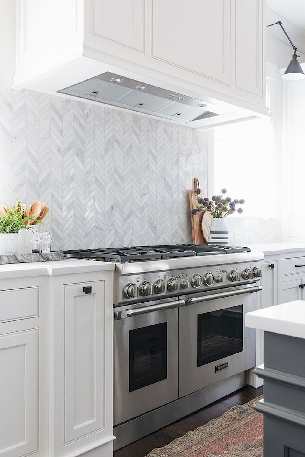 Best Inspirations Herringbone Kitchen Backsplash Kitchen Design