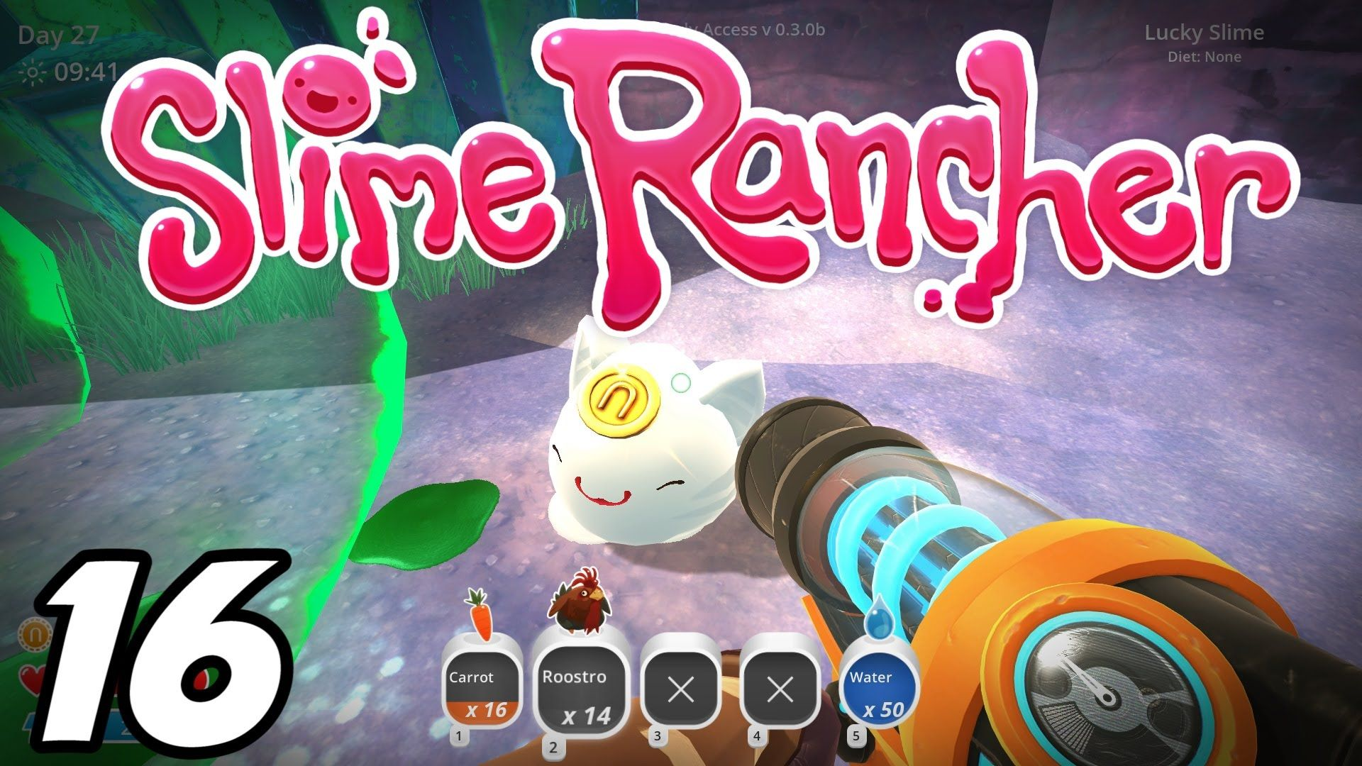 awesome Slime Rancher E16 - Lucky Slime! (Gameplay