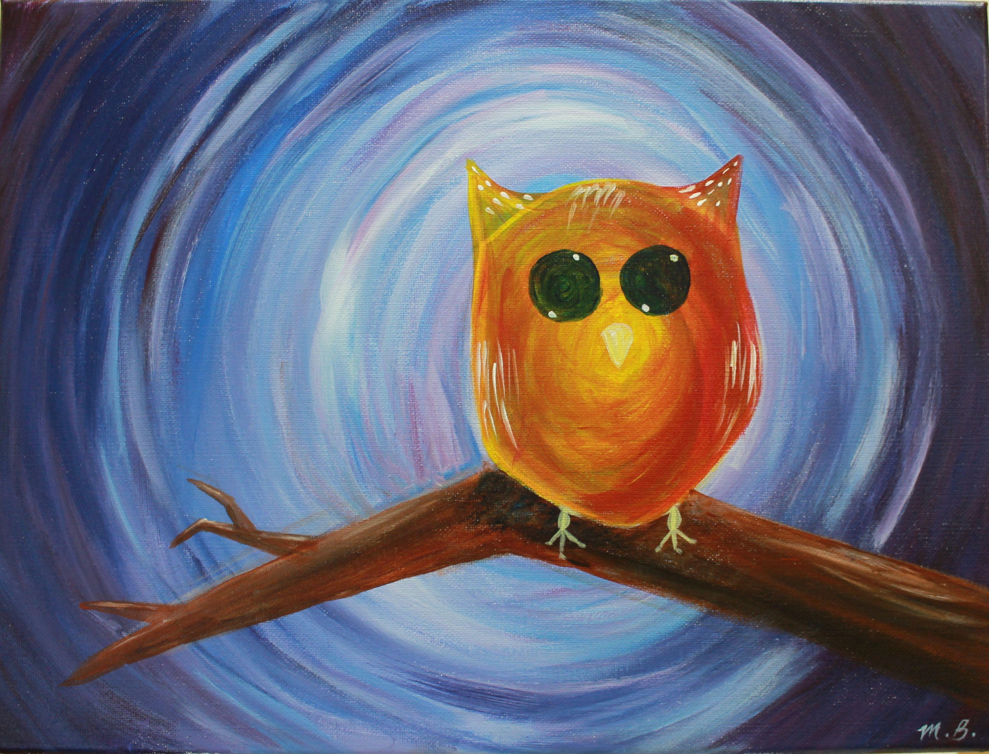 watercolor-owl-paintings
