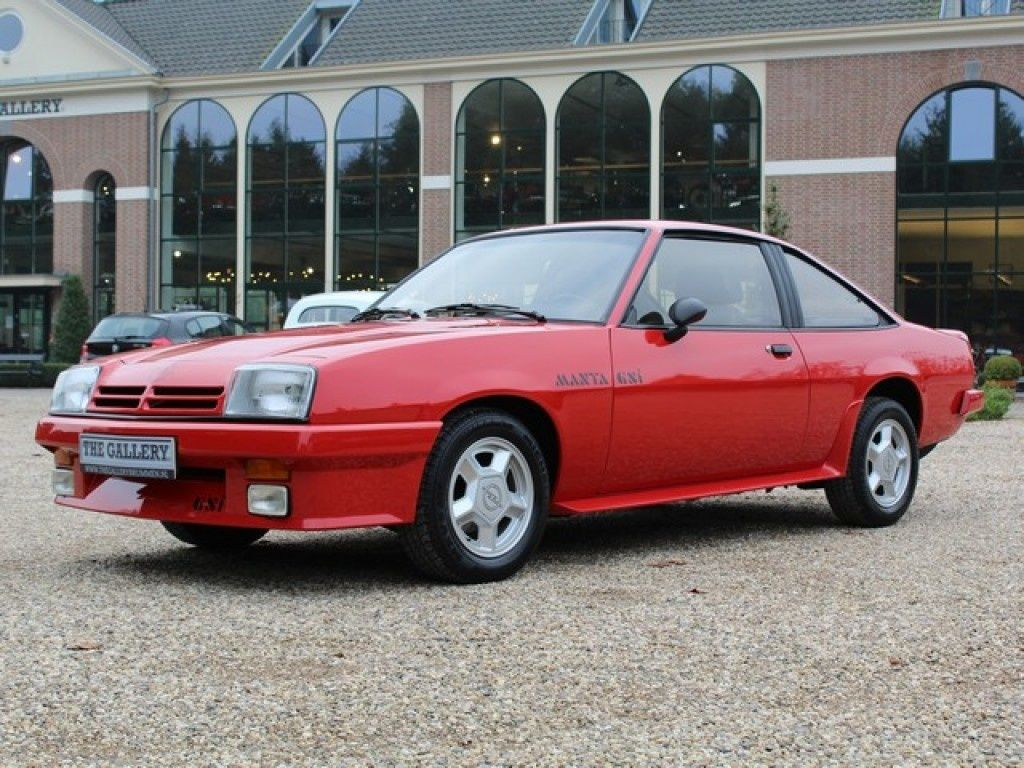 1986 Opel Manta - GSi, | Classic Driver Market | Vauxhall / Opel