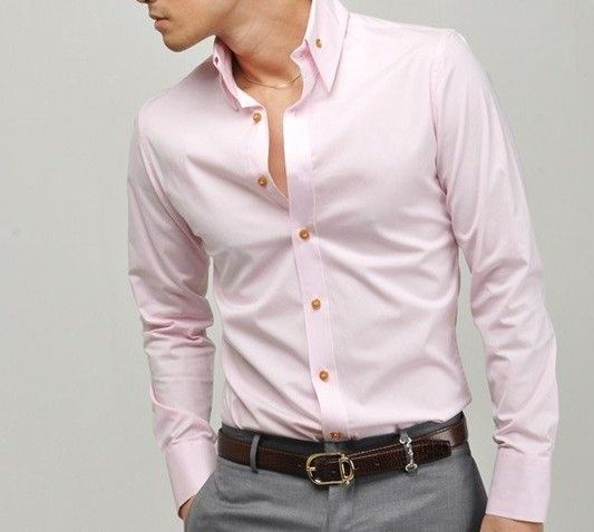 Mens-Shirts | Pale Pink | Pinterest | Men shirts