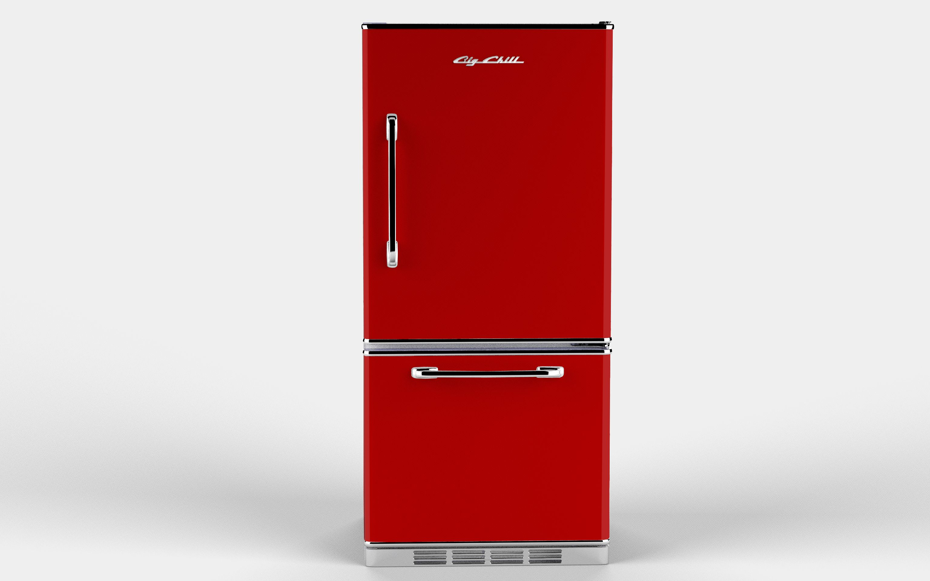 Retro Kühlschrank Big Chill : Red retropolitan refrigerator by big chill my big chill kitchen
