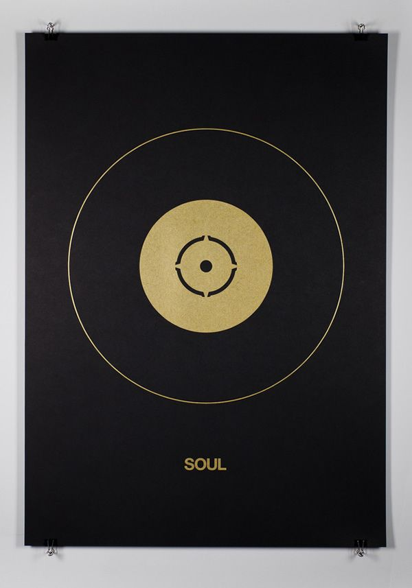 Soul. Music Genres Poster Series by Edit