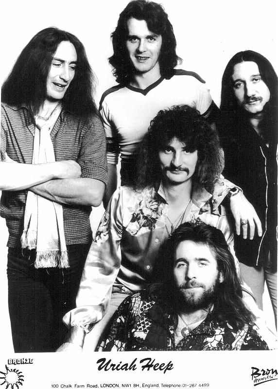 Uriah Heep 1976