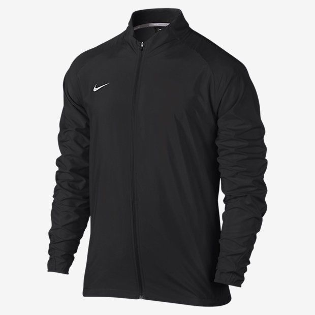Nike Team PR Woven Men's Running Black Full Zip Jacket Large 728257-010 #Large #Jacket