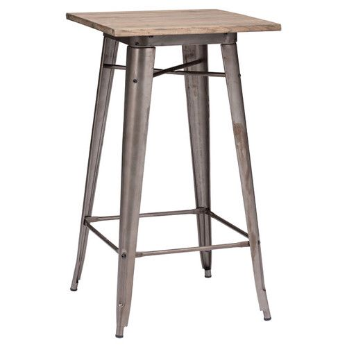 High Top Table   Could Use Stools And Make Round Tops To Attach