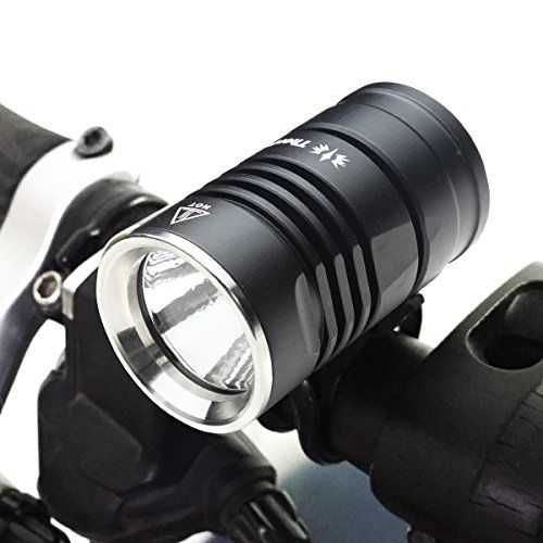 ThorFire BL01 LED Waterproof Bike Headlight Set with 5 LED Taillight and 8800mAh Battery Pack * See this great product.