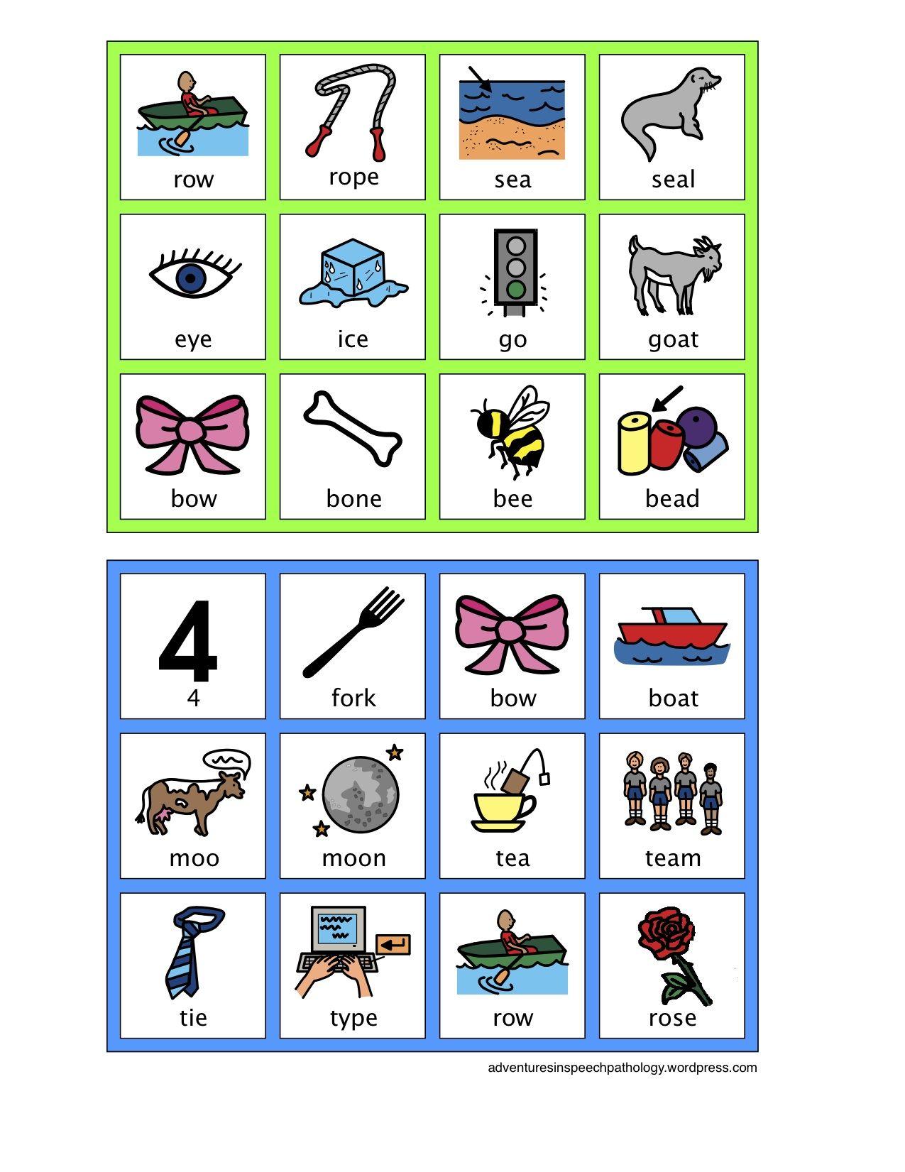 worksheet Minimal Pairs Worksheets 1000 images about slp minimal pairs freebies on pinterest bingo language and children