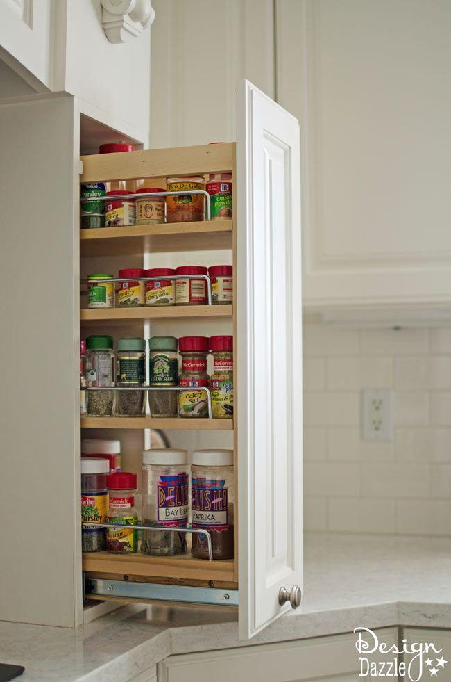 Creative Hidden Kitchen Storage Solutions Design Dazzle Diy Kitchen Storage Kitchen Design Diy Kitchen Storage Solutions
