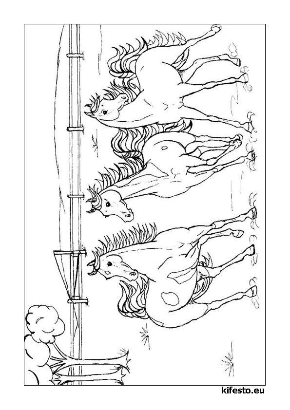 lovas kifest k s sz nez k lovas nyomtathat kifest k wood burning horse coloring pages. Black Bedroom Furniture Sets. Home Design Ideas