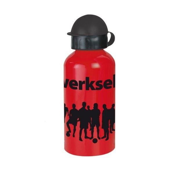 Alu-Trinkflasche Werkself Bayer Leverkusen - #Bundesliga, #Fanartikel, Fußball, #Soccer, #Sport, #Flasche - http://www.multifanshop.de