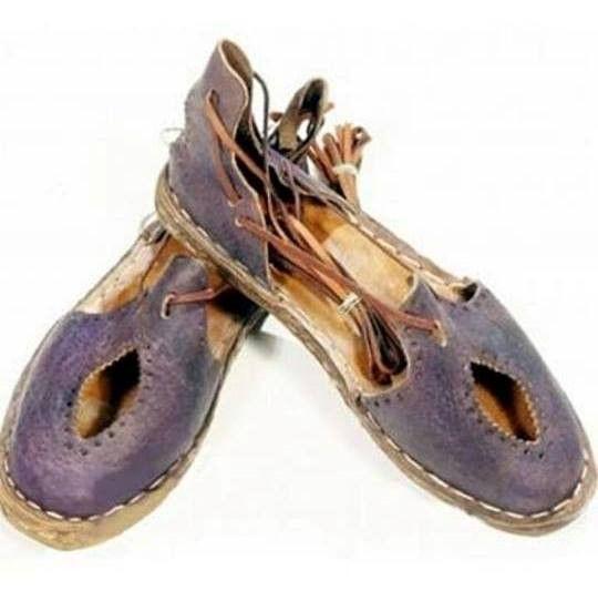 c42b4eea99e7 Handmade Leather Sandals Purple