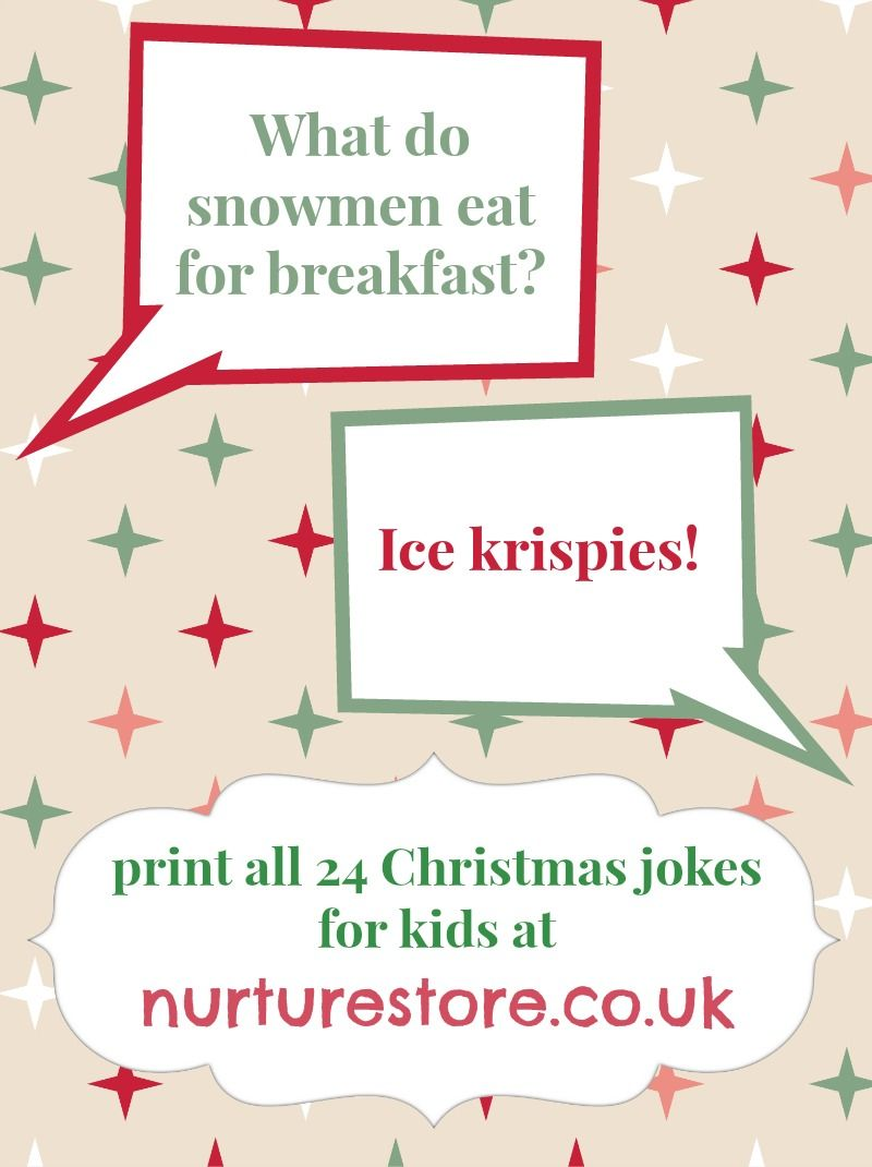 sharing some silly christmas giggles click through to print out all 24 of the christmas jokes for kids nurturestore inspiration for kids - Childrens Christmas Jokes