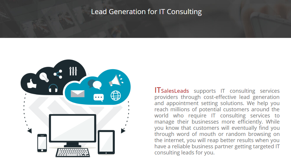 Lead Generation For It Consulting It Consulting Leads Lead