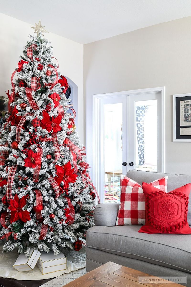 19 Festive Christmas Living Room Decor Ideas Best Christmas Tree Decorations Cool Christmas Trees Christmas Decorations Living Room #tree #decor #for #living #room