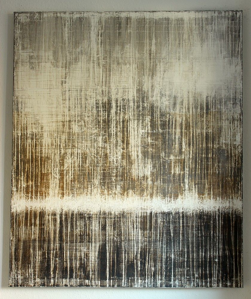bloc -120 x 100 x 4 cm, mixed media on canvas - CHRISTIAN HETZEL